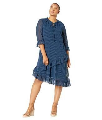 Junarose Moniwa 3/4 Below Knee Dress