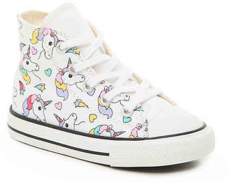 Converse Chuck Taylor All Star Unicorn Infant & Toddler High-Top Sneaker - Girl's