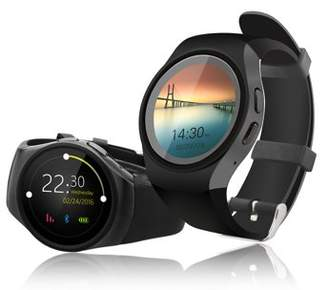 Indigi Deluxe A18 (3G Unlocked) SmartWatch & Phone - Bluetooth 4.0 Sync + Pedometer + Heart Rate Sensor + Notification