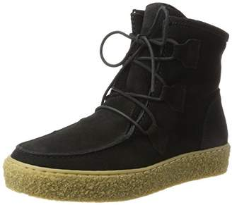 Ca Shott Ca'shott Womens A18110 Moccasin Boots Black Size: