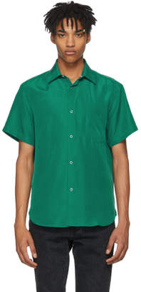 Cobra S.C. Green Short Sleeve Silk Model One Shirt