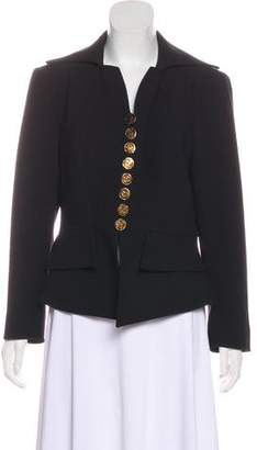 Christian Lacroix Wool Button-Up Blazer