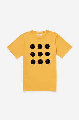 Saturdays NYC Round Grid T-Shirt