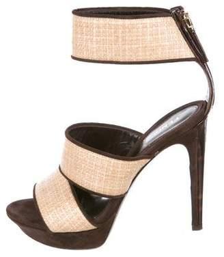 49dc6debc Fendi Brown Platform Women s Sandals - ShopStyle