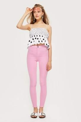 Topshop Pink Joni Jeans