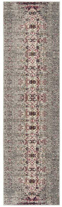 "Safavieh Monaco Grey and Ivory 2'2"" x 8' Runner Area Rug"