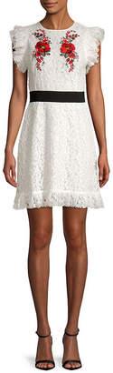 DAY Birger et Mikkelsen Lea & Viola Embroidered Lace Sheath Dress