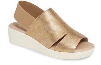 Johnston & Murphy Cassandra Slingback Platform Sandal