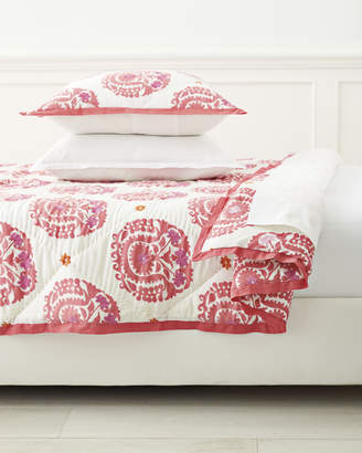 Serena & Lily Suzani Quilt - Juice