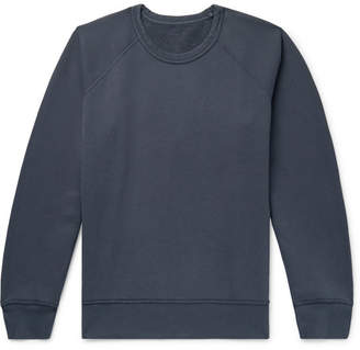 Our Legacy 50's Great Reversible Fleece-Back Cotton-Jersey Sweatshirt