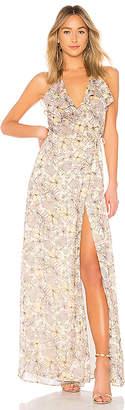 The Jetset Diaries Frangapani Maxi Dress
