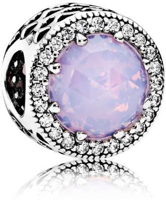 e13a8b873 ... discount at pandora pandora opalescent pink radiant hearts charm  sterling silver mixed stones crystal 94b13 e7c4a australia pandora purple  stone ring ...