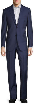 Saks Fifth Avenue Made In Italy Tailored Wool & Silk Suit