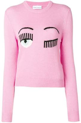 Chiara Ferragni Blinking Eyes jumper