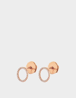 VANRYCKE Exclusive - Mono earring I'm In Love 750‰ gold and diamonds