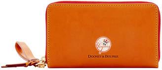 Dooney & Bourke New York Yankees Florentine Zip Around Wallet