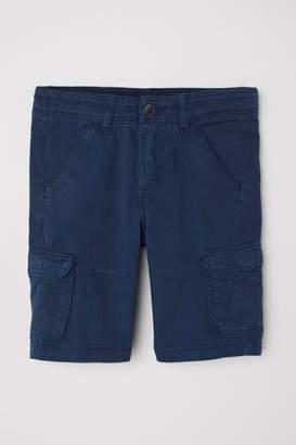 H&M Cargo Shorts - Blue