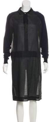 Marni Paneled Collared Dress
