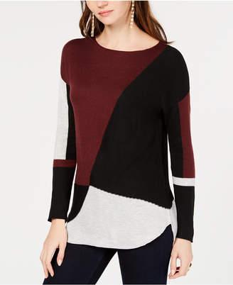 INC International Concepts Inc Colorblocked Sweater