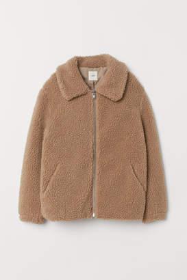H&M Pile Jacket - Beige