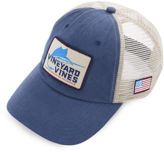 Vineyard Vines Sailfish Hook Patch Trucker Hat
