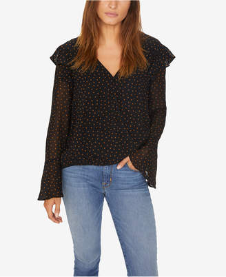 Sanctuary Cori Ruffled Surplice Top