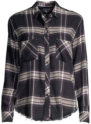 Rails Leo Rayon Plaid Shirt