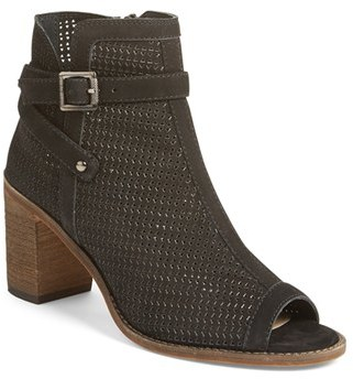 Women's Vince Camuto Temira Peep Toe Bootie $149.95 thestylecure.com