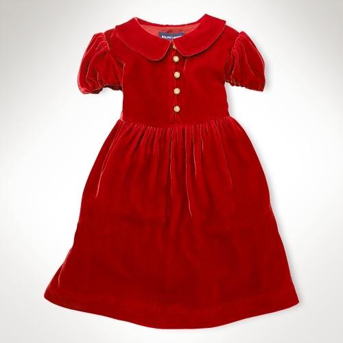 Amalia Velvet Dress