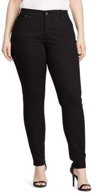 Lauren Ralph Lauren Plus Super Stretch Slimming Modern Skinny Jeans