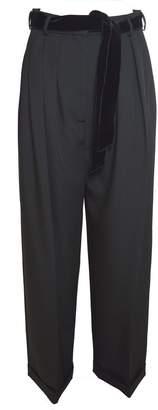 Valentino Velvet Belt Trousers