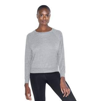 American Apparel Women's Tri-Blend Lightweight Long Sleeve Pullover