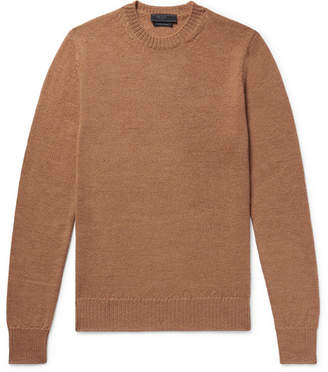 Prada Slim-Fit Alpaca Sweater