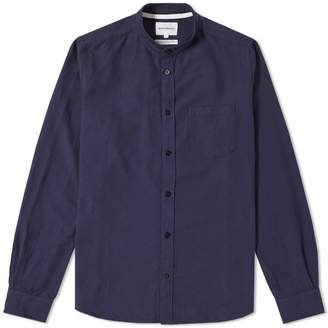 Norse Projects Hans Collarless Oxford Ripstop Shirt