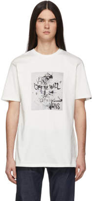 Vans White Ralph Steadman Edition Off The Wall T-Shirt