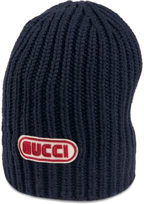 Gucci Wool hat with patch