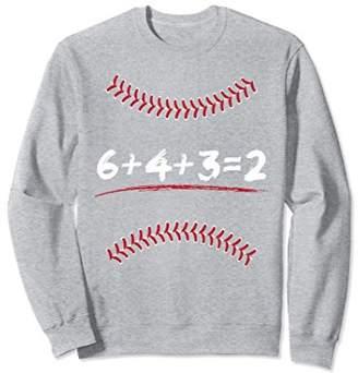 Funny Double Play Baseball Sweatshirt