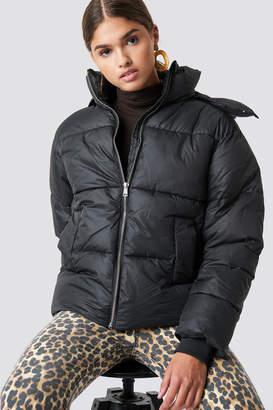 NA-KD Na Kd Puffer Jacket Black