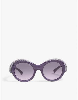 e970f076c39f Alexandre Vauthier Alain Mikli x A05040 Roselyne round-frame sunglasses