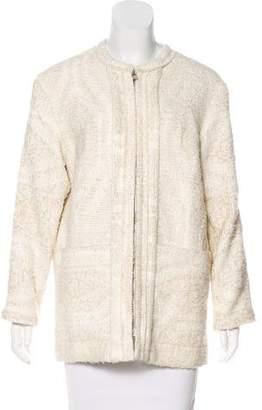 IRO Eyelash Tweed Zip Jacket w/ Tags