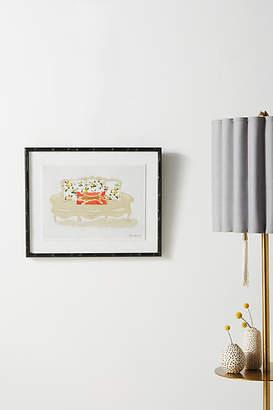 Soicher Marin Dana Gibson for Leopard Pillow Wall Art