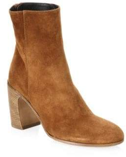 Ann Demeulemeester Curve Heel Leather Booties