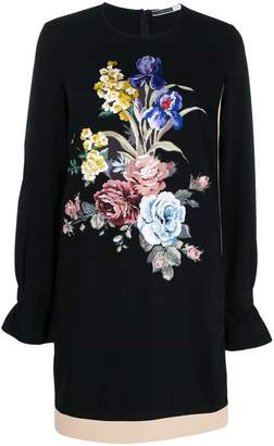 Sportmax Code floral embroidered shift dress