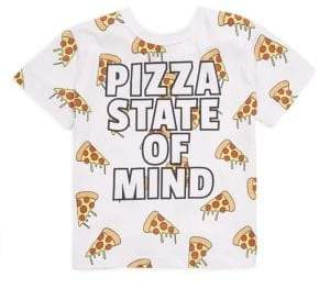 Toddler's, Little Boy's & Boy's PIzza State Of Mind Tee