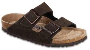 Birkenstock Arizona Suede Double-Strap Sandals