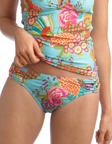 Trina Turk Floral Print Hipster Swim Bottoms