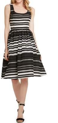 Donna Morgan Cecilia Embroidered Dress