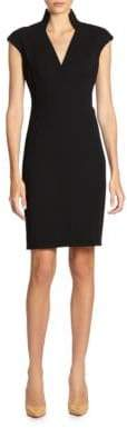 Akris Architectural Collection Double Face Dress