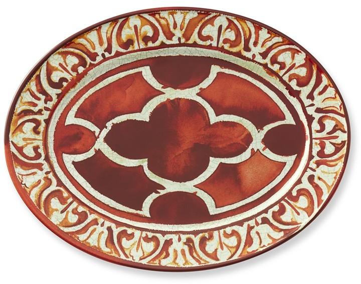 Williams-Sonoma Red Byzantine Platter