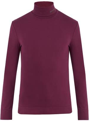 Calvin Klein Roll-neck cotton-jersey sweater